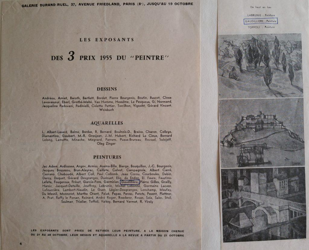 1-1955 expo groupée Paris,la locomobile à la citadelle,au centre