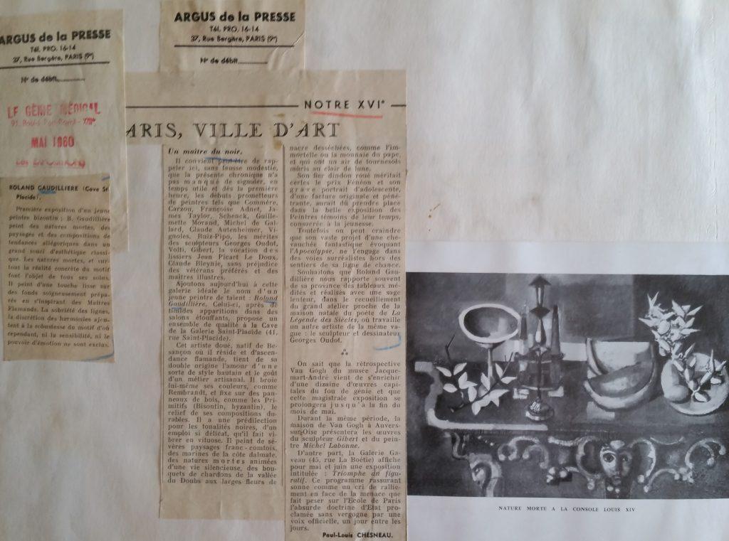 11-1960 gal.StPlacide Paris