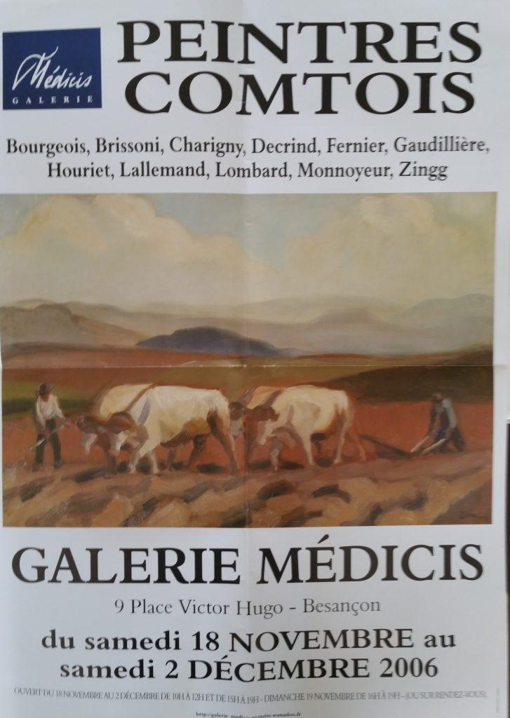 111-2006 affiche expo groupée Médicis