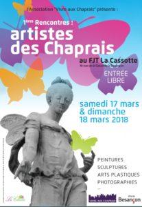 17 et 18 mars Artistes des Chaprais