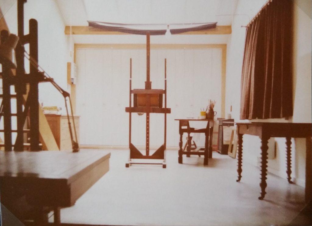 1980 atelier de la Malate