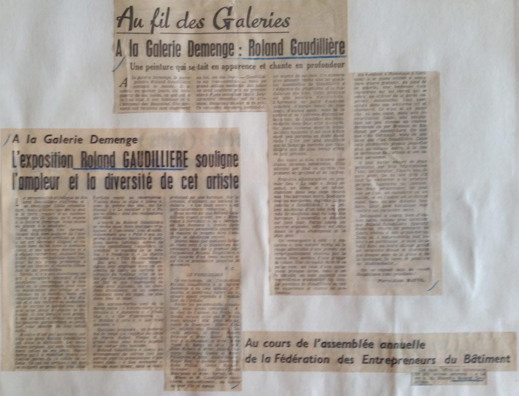 20-1961 expo gal.Demenge Besançon