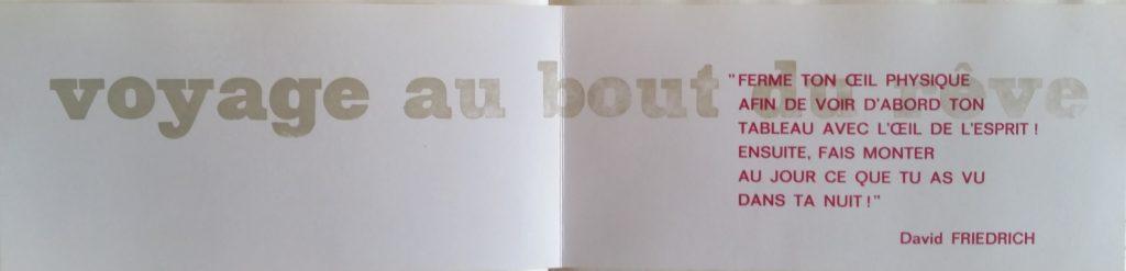 63-1968 carton d'invitation gal.Demenge