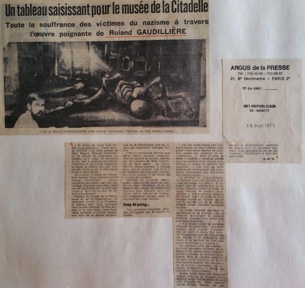 68-1971 Musée de la Déportation,Besançon