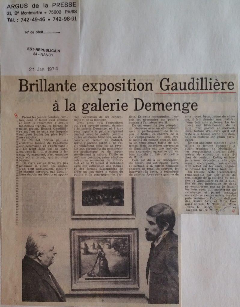 72-1974 expo gal.Demenge