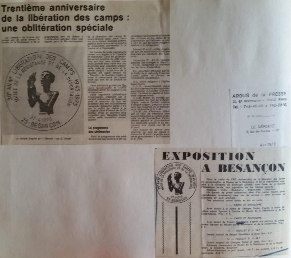 73-1975 30°anniversaire des camps de concentration