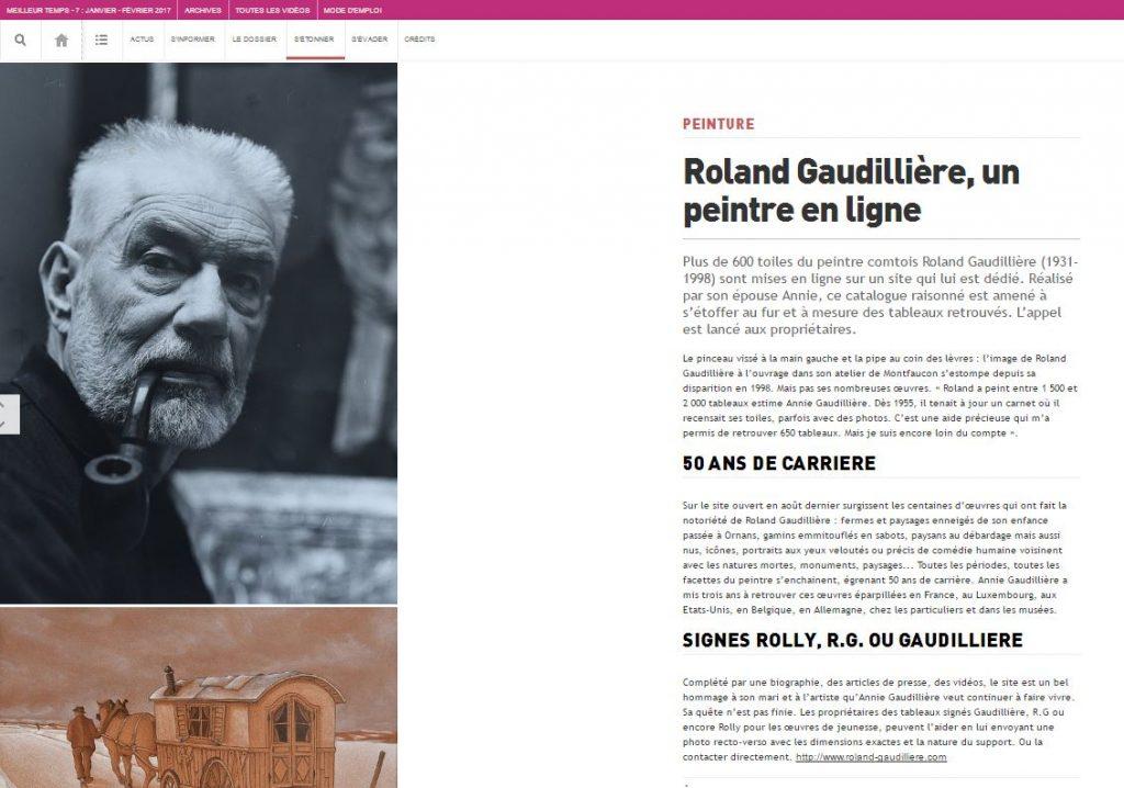 Webzine Meilleurtemps janvier 2017