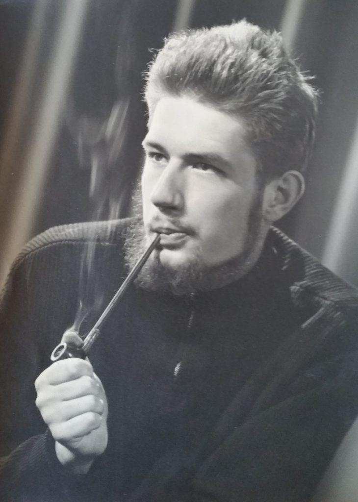 1-1955 photo pour l'autoportrait