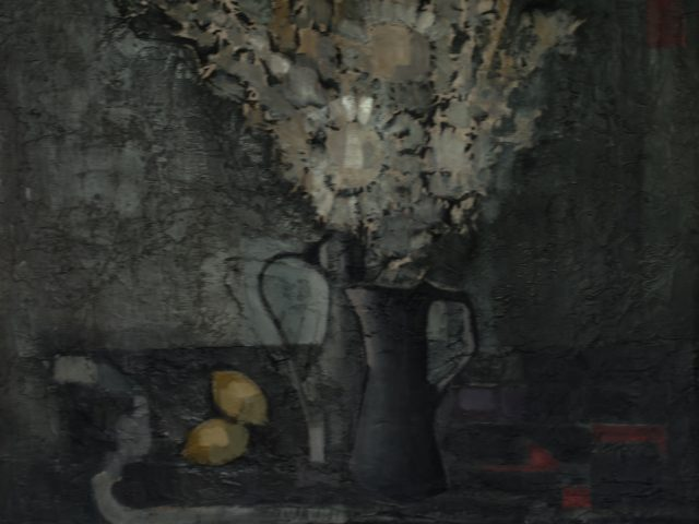 Le bouquet à la console ou Nature morte