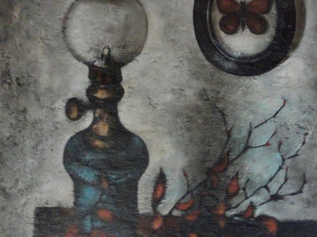 La lampe bleue ou Nature morte à la lampe bleue