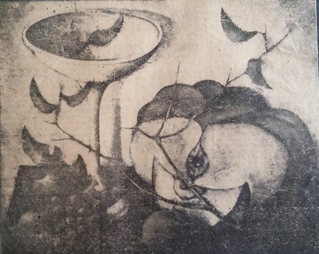 1962-43 nature morte à la citrouille 15F 0,65-0,54
