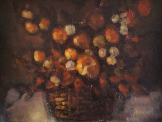 La corbeille de fleurs
