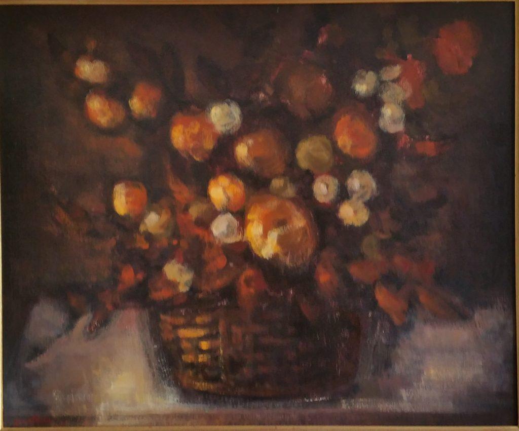 1971 la corbeille de fleurs 20F 0,62-0,74 isorel
