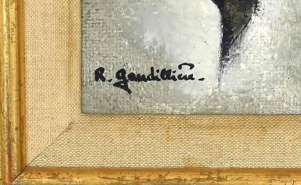 1971 la rose rouge n°2 signature