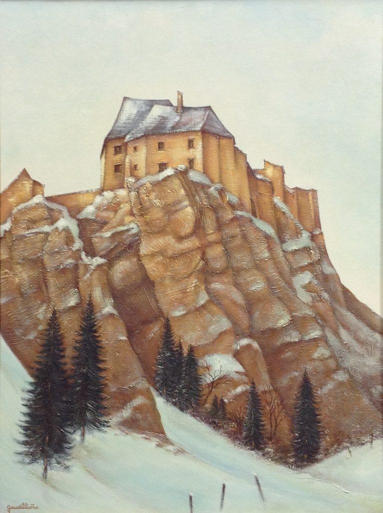 1982-22 le fort de joux 12P 0,60-0,45 toile