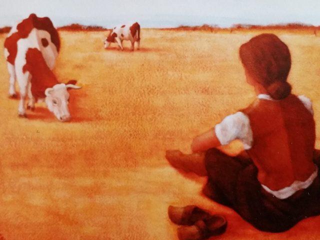 Au champ, les vaches