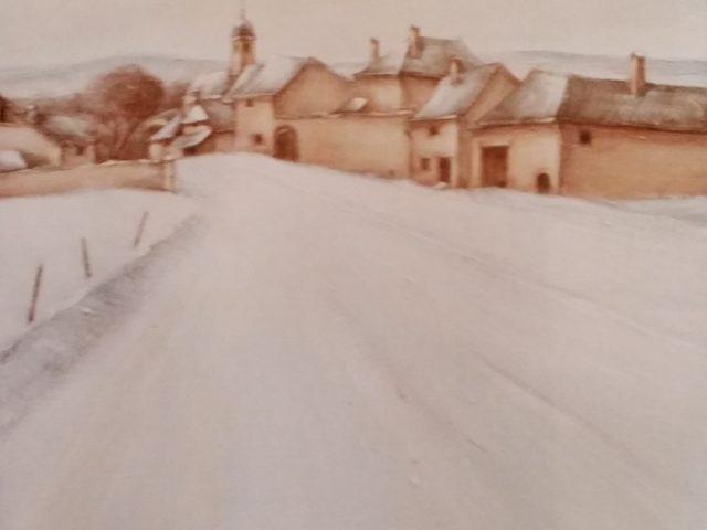 La grande rue du village