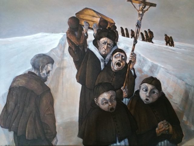 L'enterrement dans le Haut Doubs