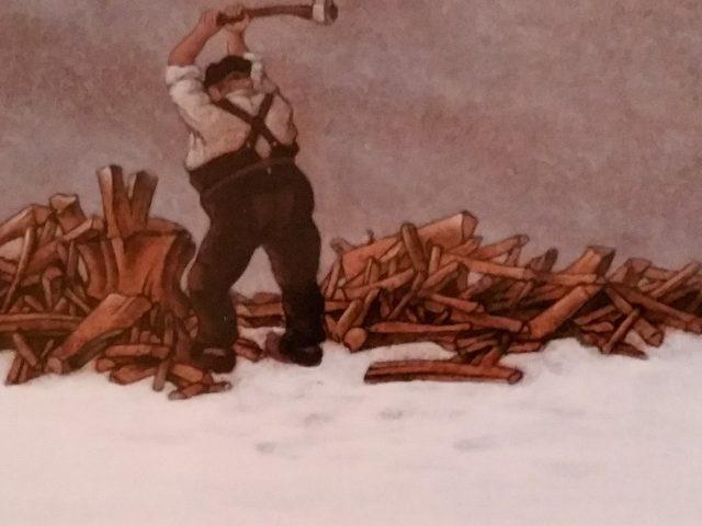 Le fendeur de bois