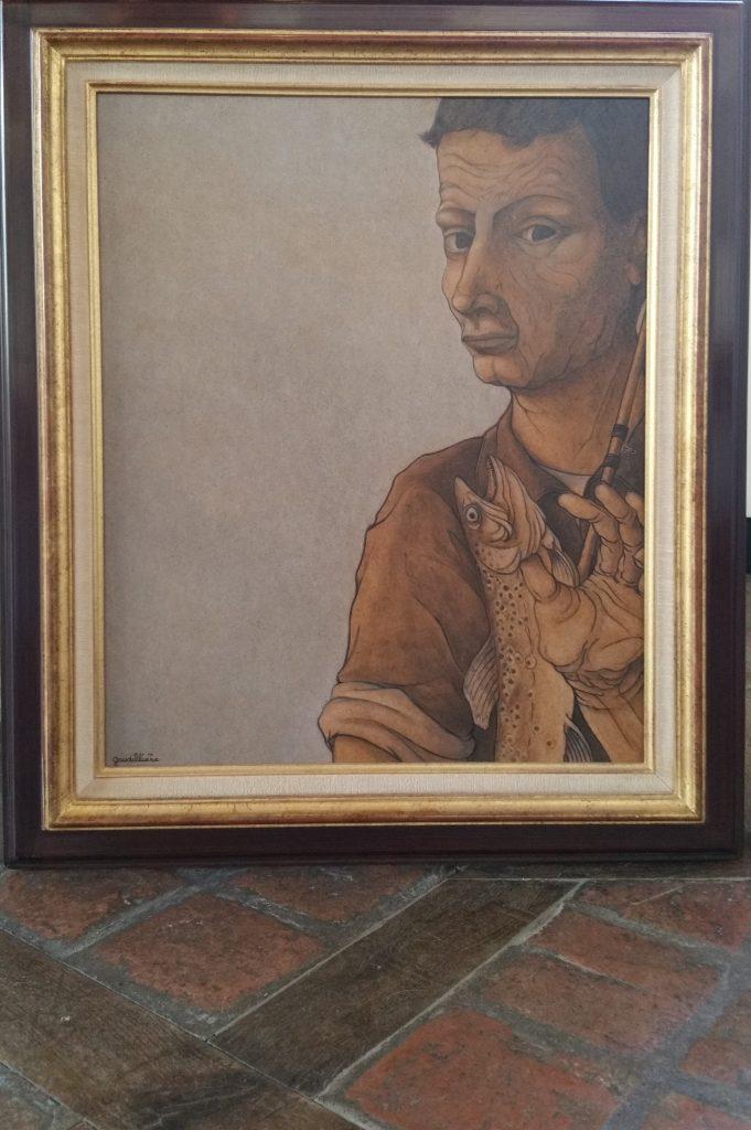1989 le pêcheur de truites,galerie Médicis