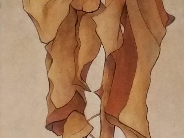 Le tournesol, en revisitant Schiele