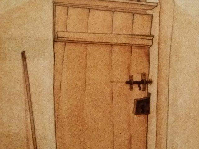 Le ciel derrière la porte