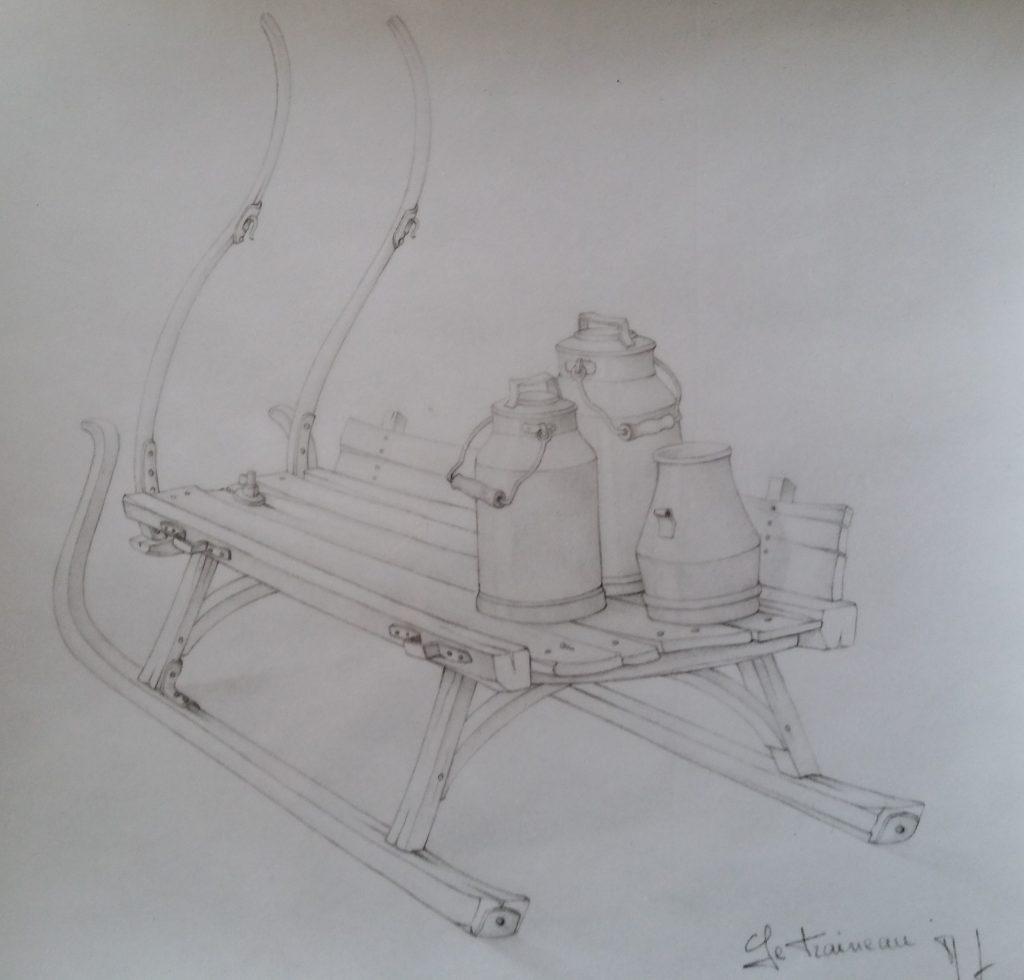 27-1993 le traineau étude