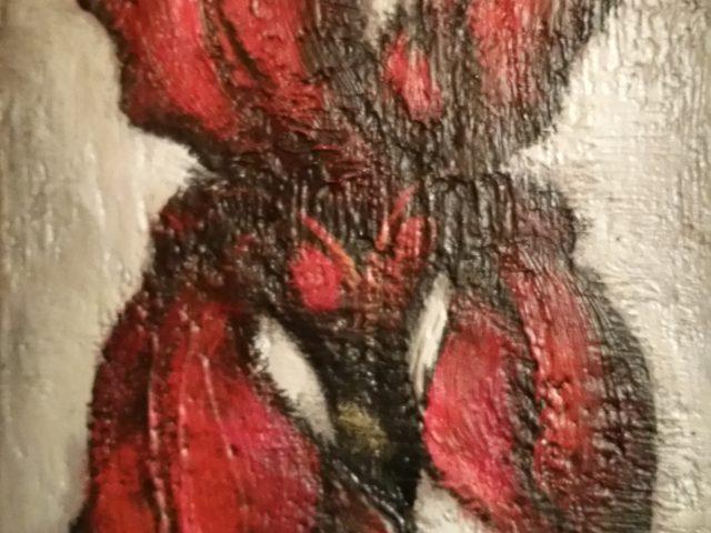L'iris rouge