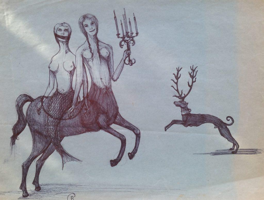 1954-les-gorgonesfemmes-cheval-022-031-dessin-ecole-des-beaux-artsparissigne-rg