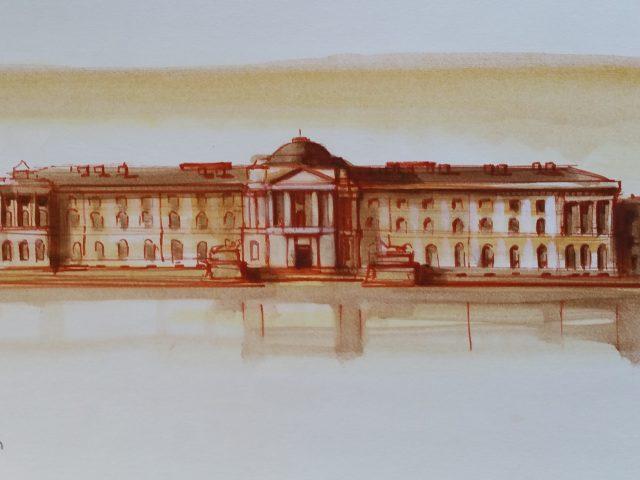 Leningrad, académie des arts