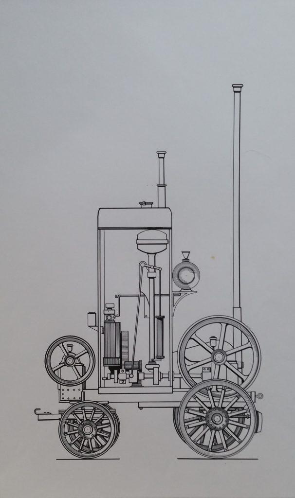 1960-machine-a-tuer-le-temps-n1-060-030-dessin-sur-papier-colle-sur-boisnon-signe