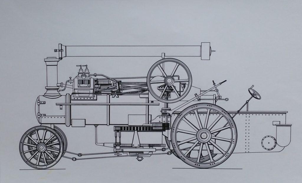 1960-machine-a-tuer-le-temps-n2-030-060-dessin-sur-papier-colle-sur-boisnon-signe