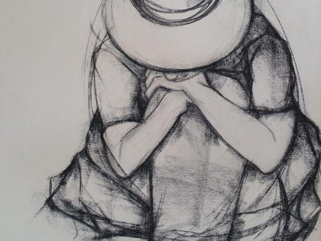 Femme pensive