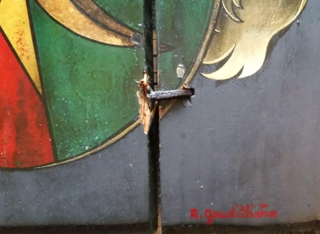 1965 le chevalier détail signature