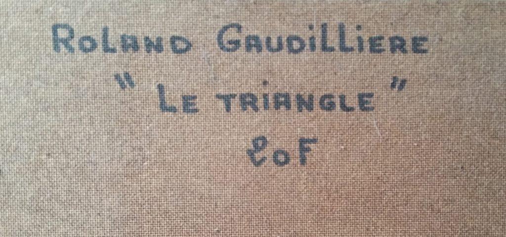 1985 le triangle verso
