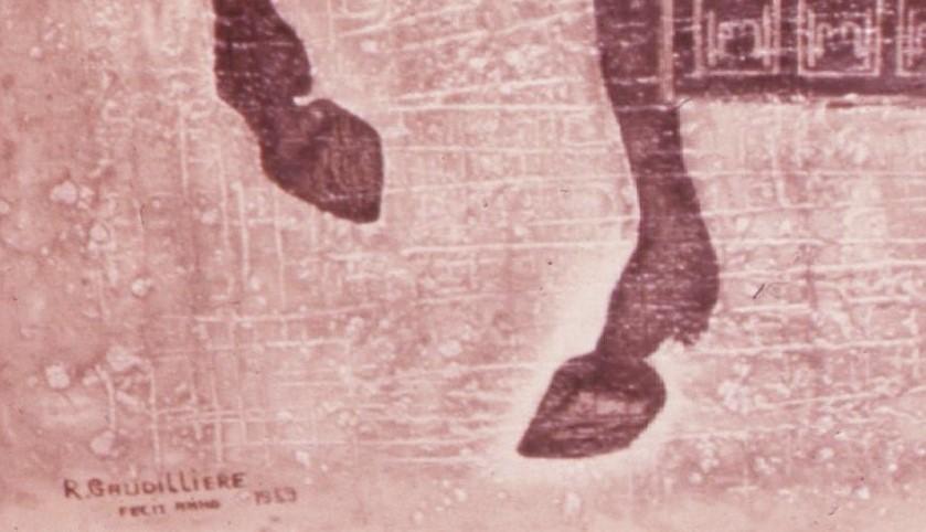 1959 le roy,diapo,détail signature FECIT ANNO 1959