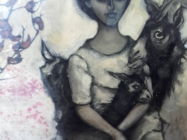 la jeune fille aux chèvres