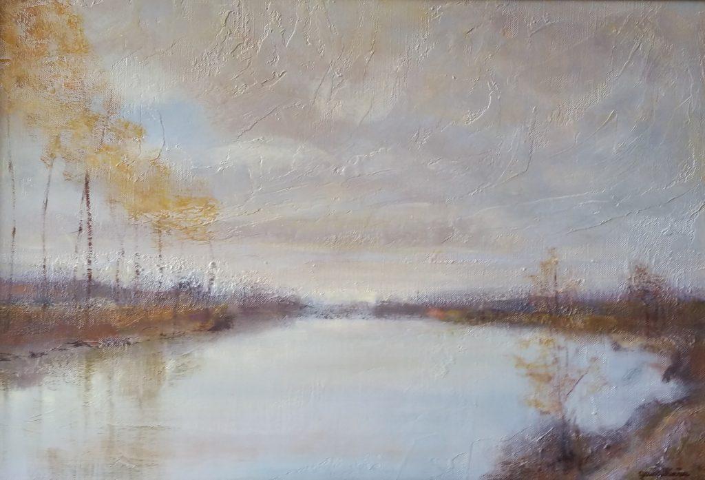1982 pâle soleil d'automne 10P 0,38-0,55 toile