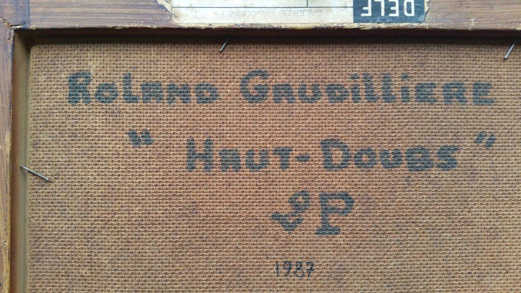 1987 Haut-Doubs verso