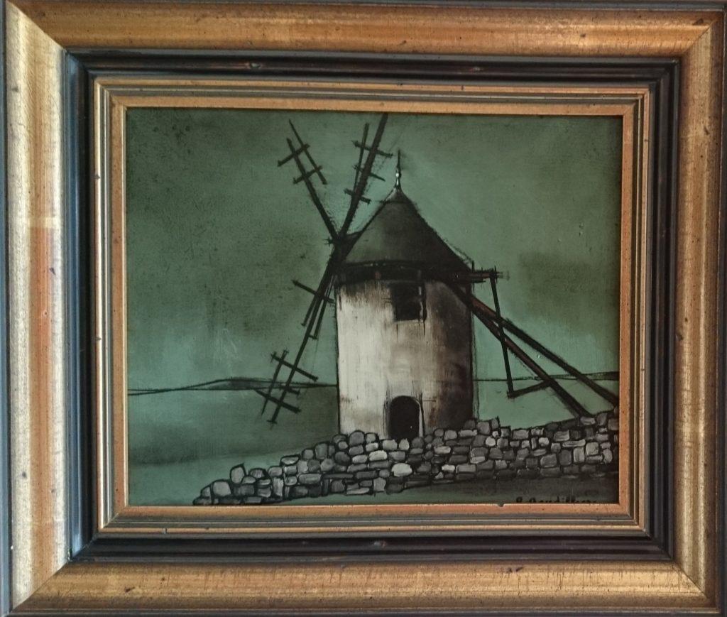 1958 le moulin à vent ou le moulin 3F 0,22-0,26 isorel