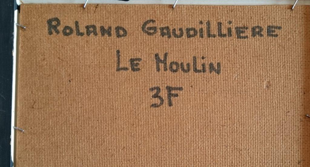 1958 le moulin à vent ou le moulin 3F verso