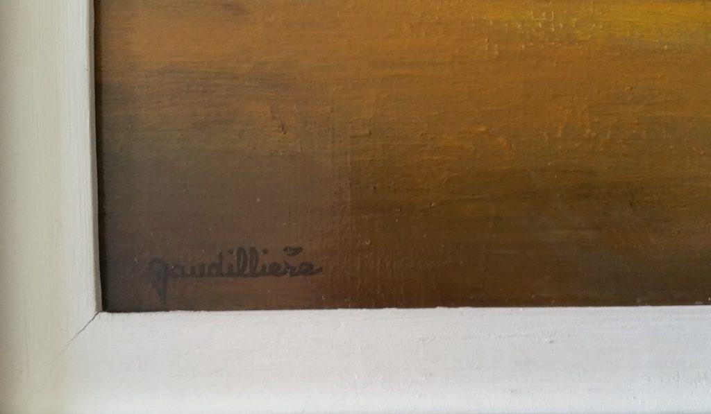 1966 paysage-l'aurore signature