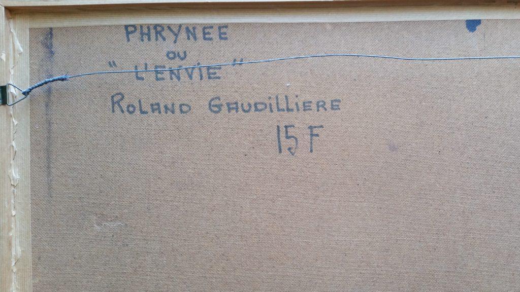 1968 phrynée ou l'envie verso