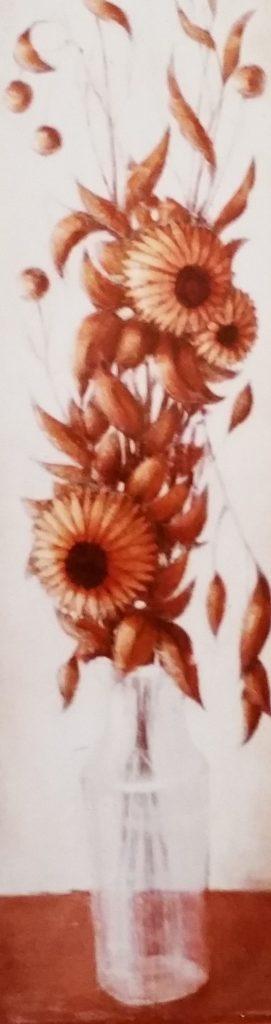 1984-19 les fleurs séchées HF8 0,80-0,20 isorel