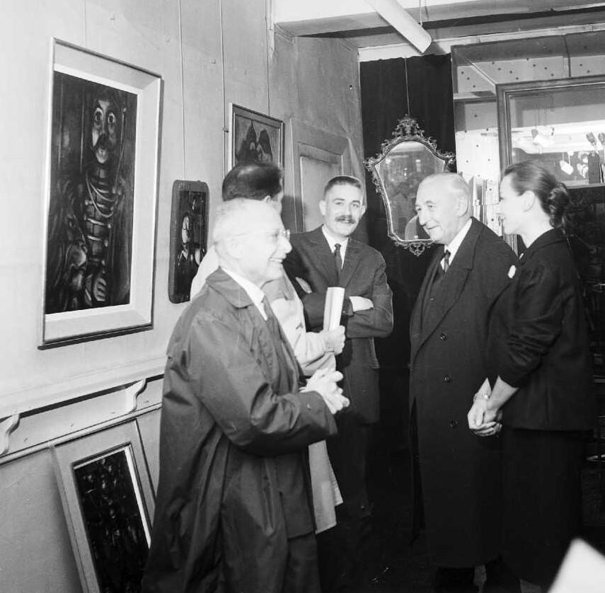 28-1962 galerie Demenge,Roland,Jacques Weinman,Lidvina