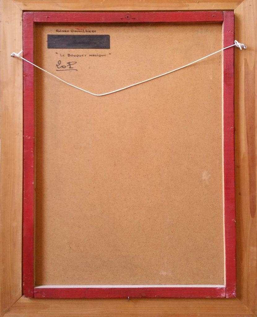1961 le bouquet magique 20P verso