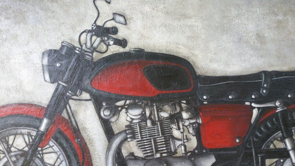 1966 la moto détail
