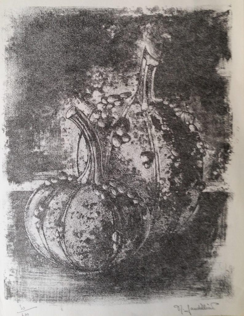 1966 les coloquintes 0,21-0,27 lithographie
