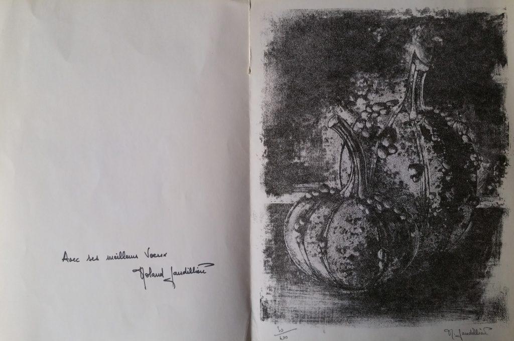 1966 les coloquintes,carte de voeux