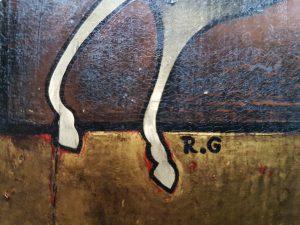 1965 cavalier-boule HF3 icône signature